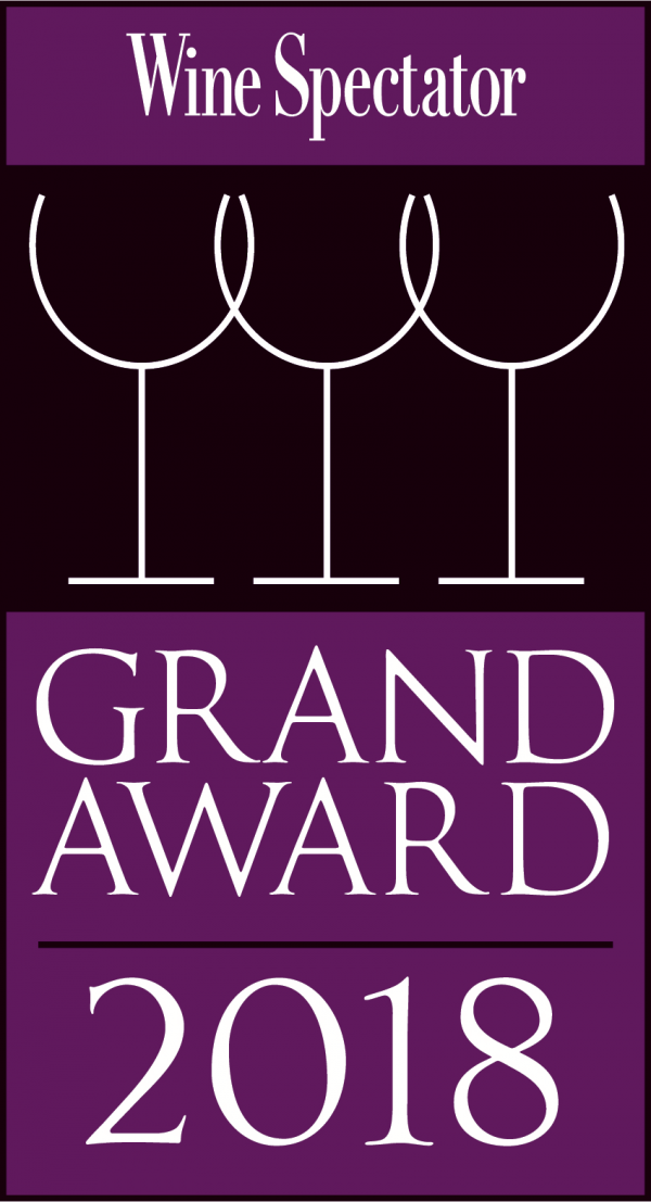 2018 Wine Spectator Grand Award