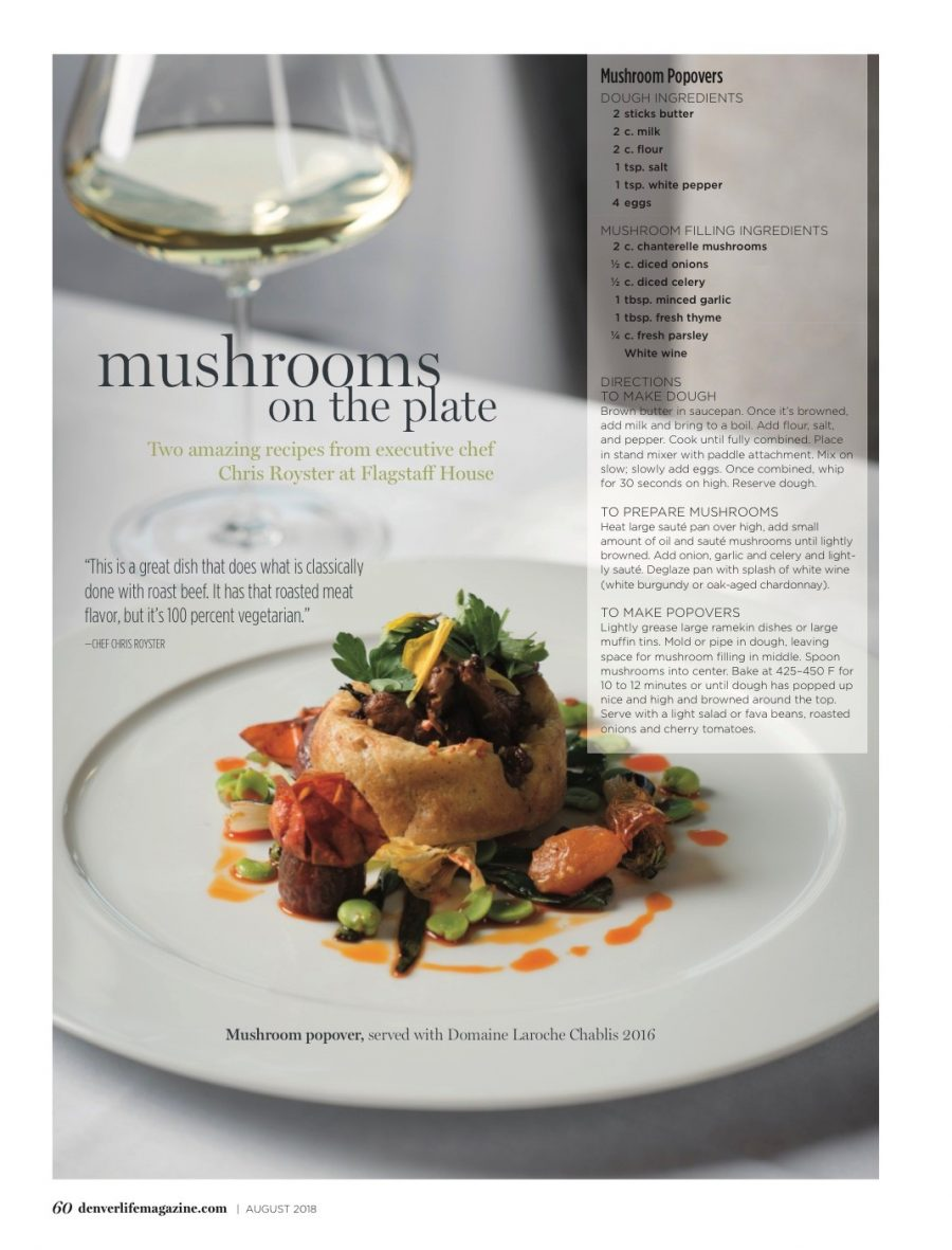 Denver Life Magazine: Mad About Mushrooms – Mushrooms on the Plate